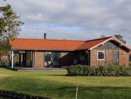 Chalet steenstrips maatwerk mobiele bungalow Paria