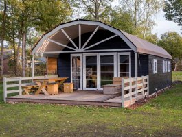 Lodge ultima rond dak tentlodge met zijl