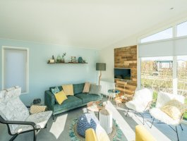 Hudson model - maatwerk - interieur- lessenaar - kozijnen - Duntep - mobiele bungalow - Hudson